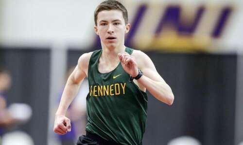 205 high school athletes competing in Iowa Track Guy Carnival…