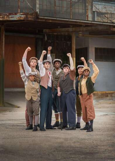 """Newsies"" cast plans to spread the good news in Cedar Rapids"