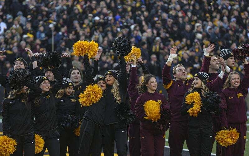 Photos: Iowa football vs. Minnesota