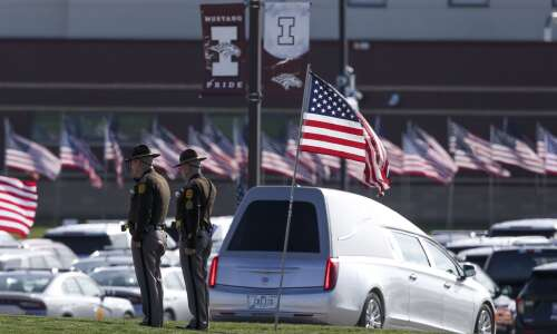 Photos: Funeral for Iowa State Patrol Sgt. Jim Smith