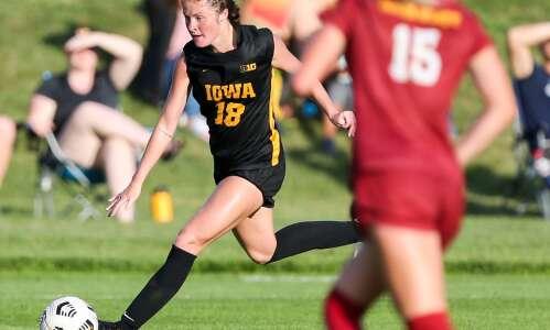 Iowa grad transfer Courtney Powell dedicates season to her father