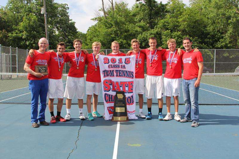 Vikings are the class of 1A tennis