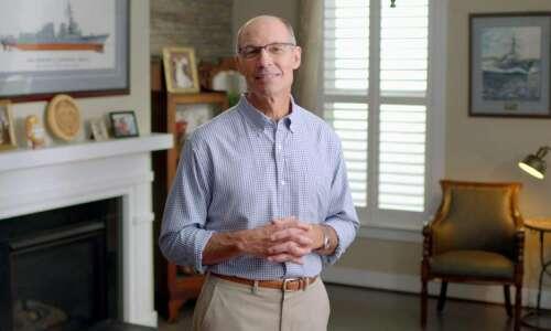 Iowa Democrat group looks to draft retired admiral Mike Franken…