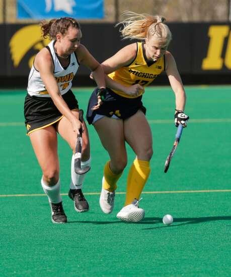 Photos: Iowa Hawkeyes vs. Michigan Wolverines, Big Ten field hockey tournament