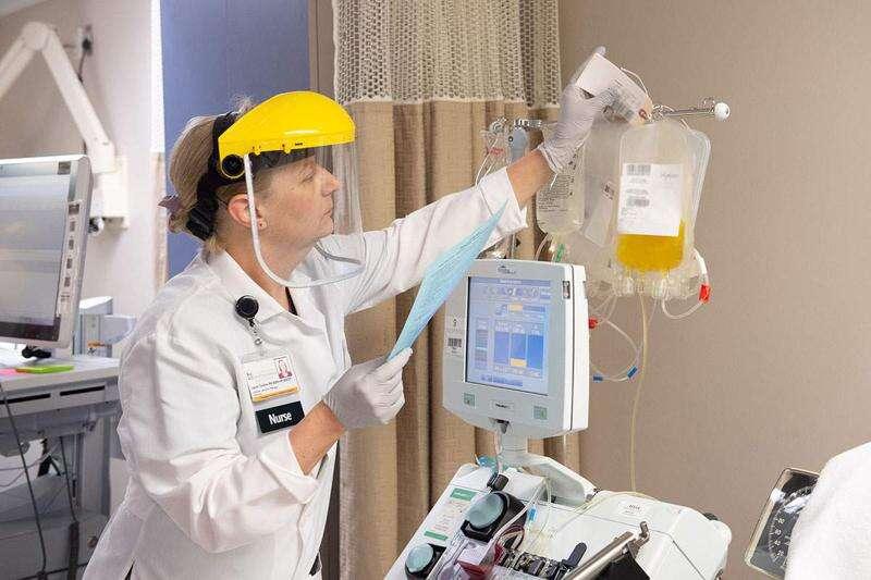 University of Iowa begins using coronavirus plasma on hospitalized patients