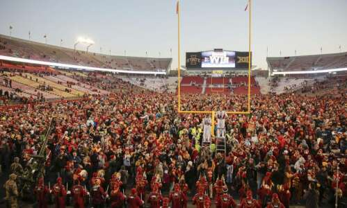 Iowa State football notes: Field storm after win over TCU…