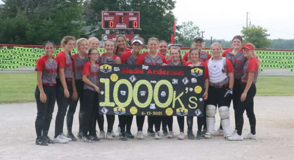 1,000 career strikeouts