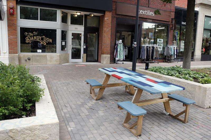 More outdoor seating options, fewer events as downtown Iowa City adjusts to pandemic summer