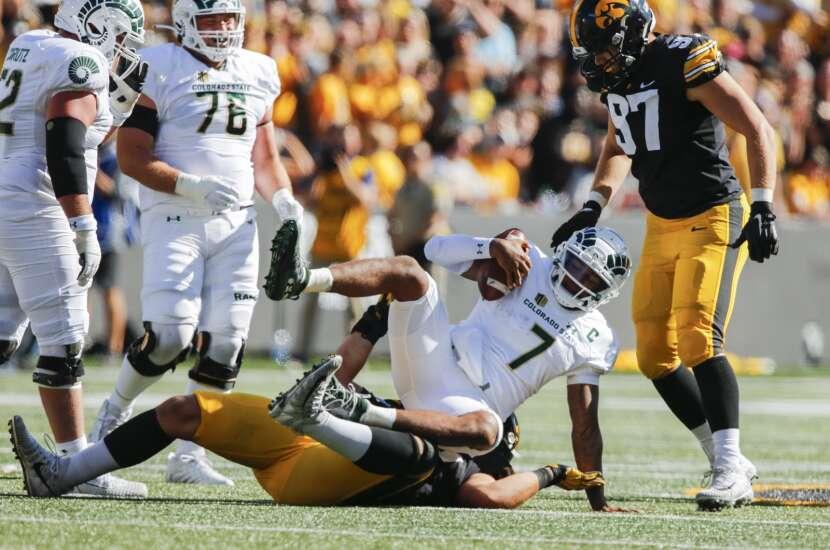 Game Report: Iowa Hawkeyes 24, Colorado State Rams 14