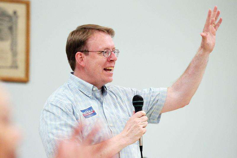 Democratic state Sen. Rob Hogg of Cedar Rapids says he won't run for reelection in 2022
