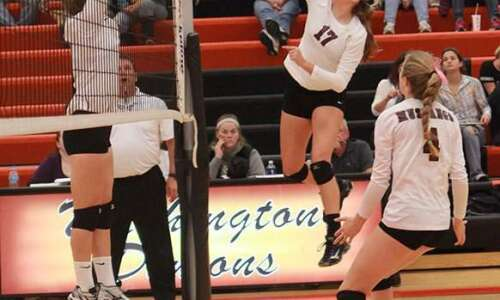 Photos: Looking back at Mount Vernon volleyball regional final win