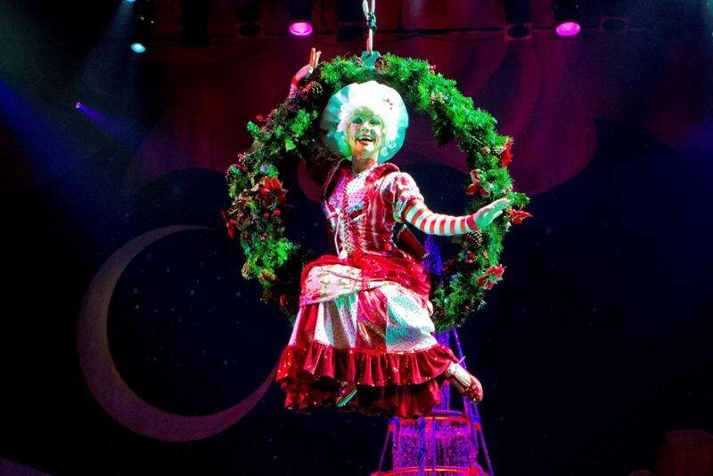 Combination of a Broadway musical and Cirque spectacle, Cirque Dreams, coming to Cedar Rapids Tuesday