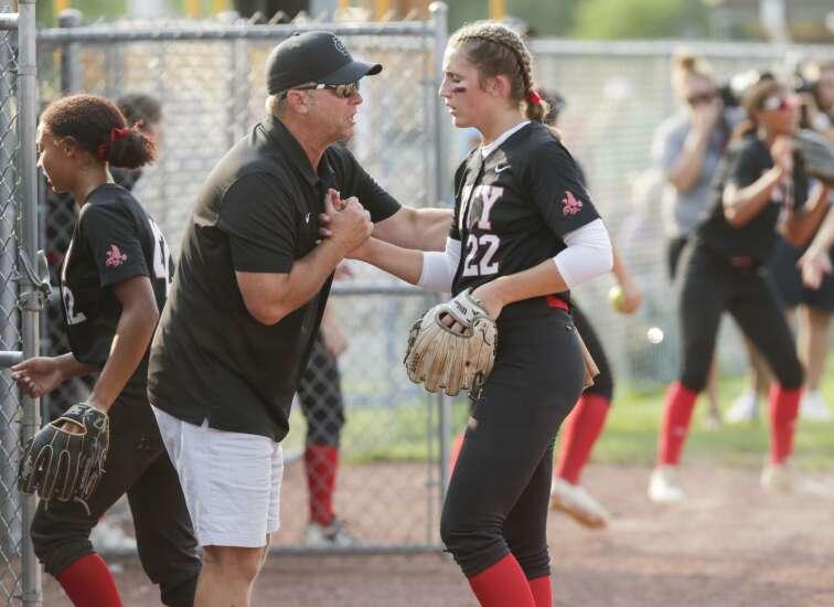 Ankeny Centennial ends Iowa City High's state softball title dream