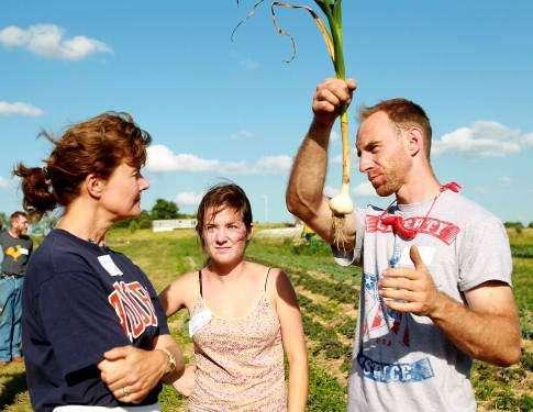 Farmers brainstorm simple tools to make their work easier