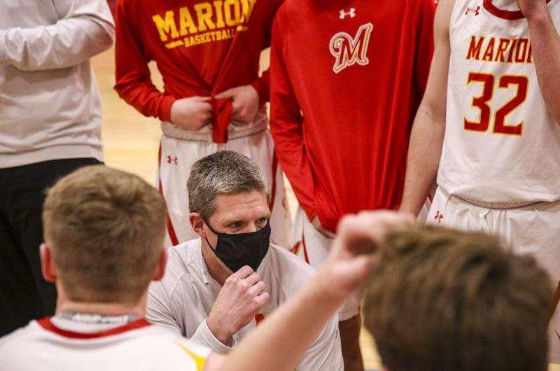 Photos: Cedar Rapids Xavier vs. Marion, Class 3A Iowa high school boys' basketball substate quarterfinals