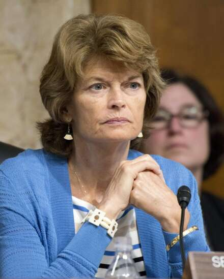 Republican Sen. Lisa Murkowski announces support for repealing individual mandate, a potential boost to tax overhaul