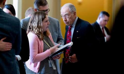 Iowa's Grassley and Ernst split on infrastructure proposal
