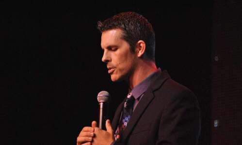 Penguins Comedy Club gig made comedian Nathan Timmel an Iowa…