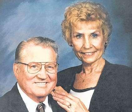 Ed and Carlette (Chadima) Eichler - 69th Anniversary