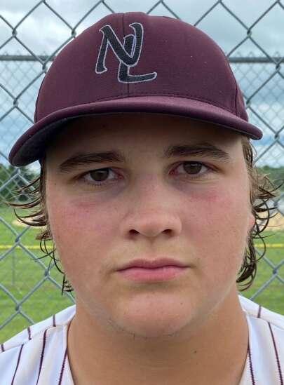 North Linn's Alex Sturbaum fueled by fun in final baseball season