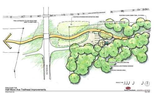 Next Clear Creek Trail leg will connect Tiffin, Kent Park