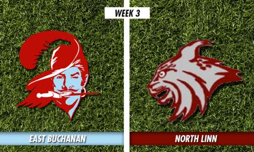 East Buchanan stops North Linn with defense, ground game