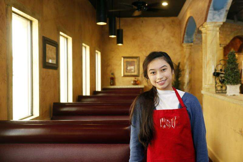 Local restaurant recipes star in Marion student's recipe book for kids