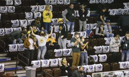 Report: Iowa men's basketball returning to Sioux Falls next season