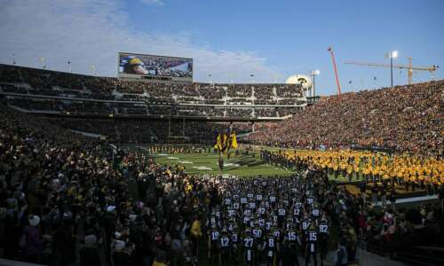 Iowa football 2021 schedule: Some start times, TV channels announced