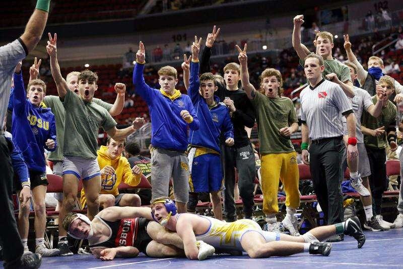 Photos: Lisbon vs. Don Bosco, Class 1A Iowa high school wrestling state duals final