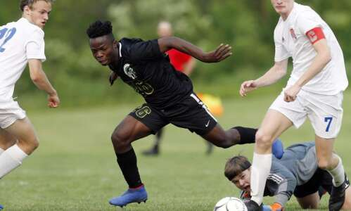Boys 3A soccer semifinals - CR Washington vs IC West