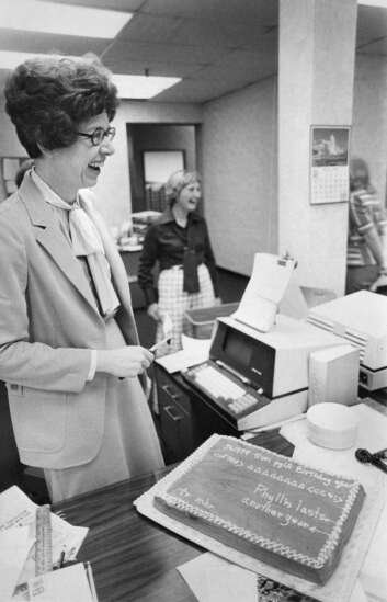 Time Machine: Meet Phyllis Fleming. She did it all in 45 years in The Gazette's newsroom