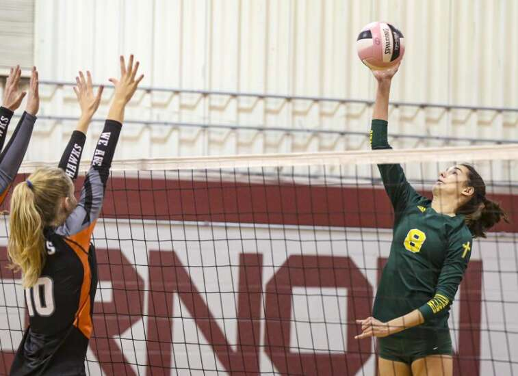 Volleyball notes: Beckman aims to leave the Wamac as a winner