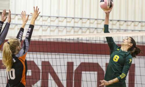 Beckman volleyball aims to leave the Wamac as a winner