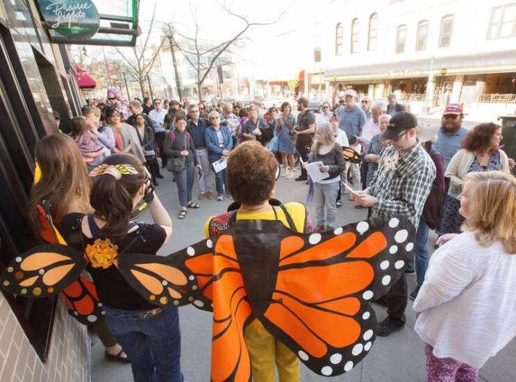 Photos: A dazzling Dazzle Crawl in Iowa City