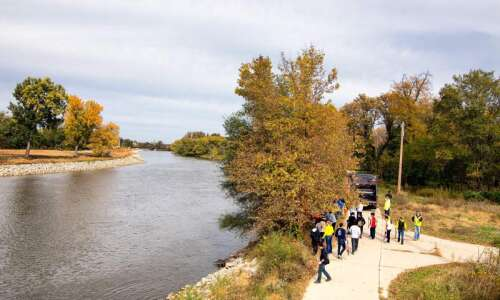 Iowa City closes trails after days of heavy rain