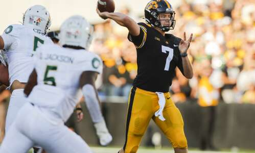 Spencer Petras, Hawkeyes begin to incorporate deep ball on offense