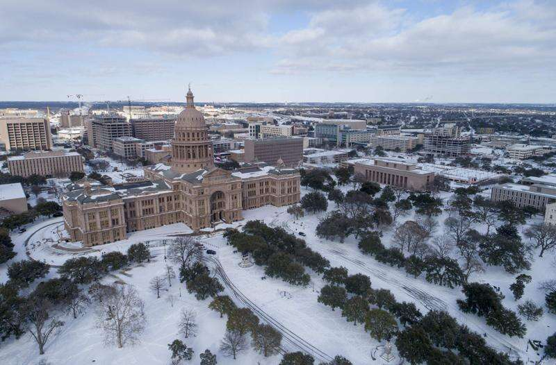 Eastern Iowa shivers as cold extends even deep into Texas
