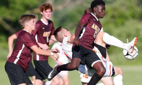 No. 2 Cedar Rapids Prairie toppled in 3A boys' soccer…