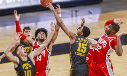 Photos: Iowa men's basketball vs. Ohio State
