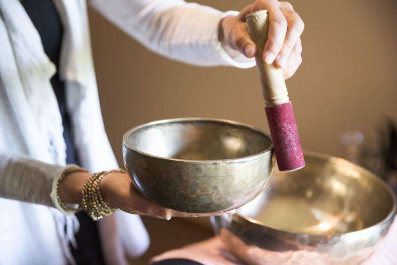 Healing sound: Tibetan singing bowl therapy reduces stress, physical and emotional strain