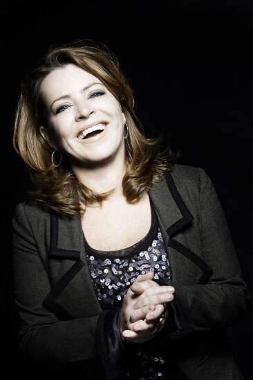 Funny business suits Kathleen Madigan