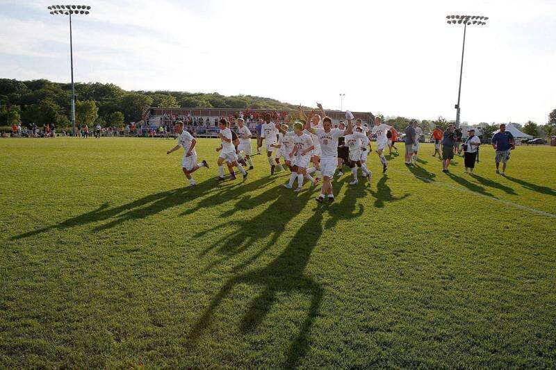 2016 boys' state soccer pairings, scores