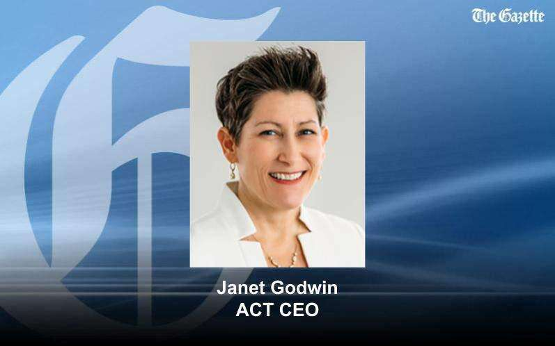 Janet Godwin named permanent CEO of Iowa City-based ACT