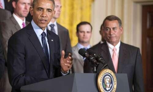 Together: Obama, Biden, Boehner, Zach Johnson
