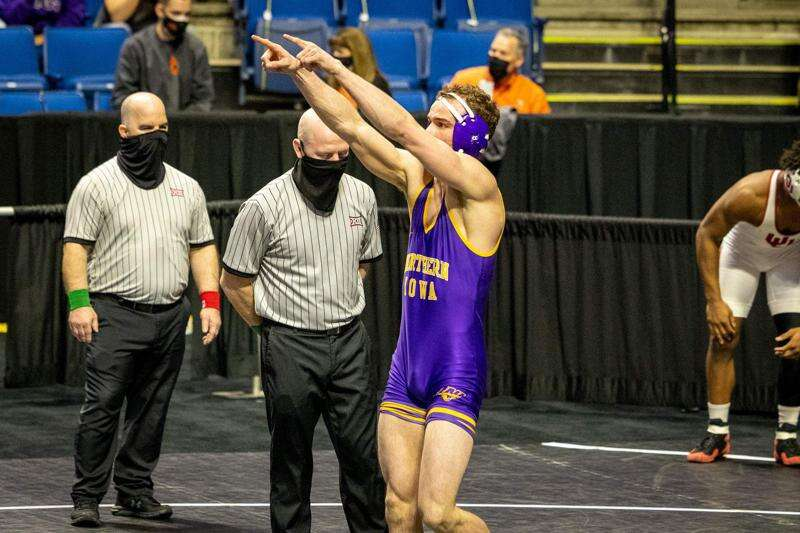 Out most of the year, UNI's Austin Yant recovers in time to qualify for NCAA wrestling