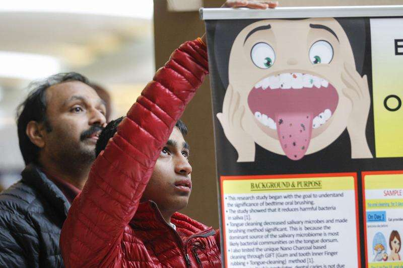 PHOTOS: Eastern Iowa Science and Engineering Fair