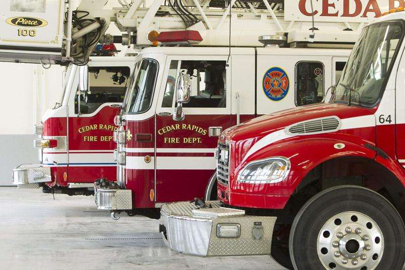 Saturday fire leaves two Cedar Rapids residents displaced, one injured