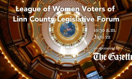 Watch: Hear from Linn legislators in League of Women Voters…
