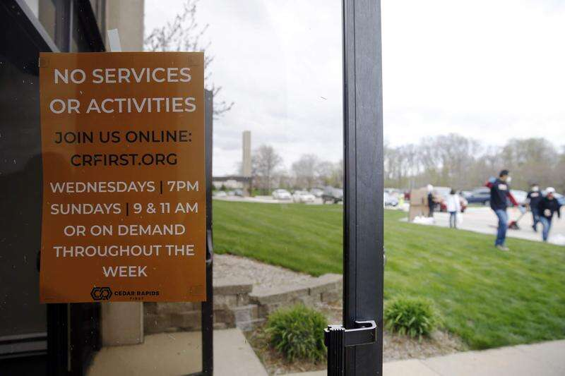 Many Iowa churches sticking with online worship despite lifting of coronavirus restrictions